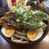 峠のうどん屋 藤屋 - 料理写真:「野菜天ぷら手打うどん」600円