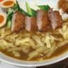 原了郭 - 料理写真:ネギ・チーズ・味玉・ヒレカツトッピング