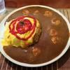 めぐろ三ツ星食堂 - 料理写真:オムエビカレー