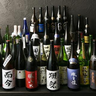 【厳選】47都道府県の日本酒勢ぞろい!!340円~飲み比べ♪