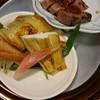 京懐石 美濃吉 - 料理写真:かれいの酒焼きと牛ロース炙り焼き