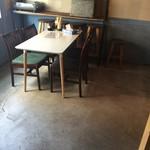 ニジイロ食堂 - 完全にカフェですな(笑)