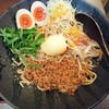 麺厨房 華燕 - 料理写真:汁なし担々麺(冷)800円+味玉100円