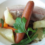 5245483 - メインディッシュの肉料理。レンズ豆入り。塩加減がいい!