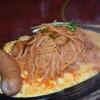 かぶと - 料理写真:鉄板ナポリタン