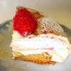 ラ・パティスリープレジール - 料理写真:イチゴのケーキ