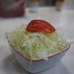 バーグ - ハンバーグ定食のサラダ