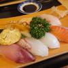 音の花温泉 音の花亭 - 料理写真:寿司セットランチ:1000円('16.06月)