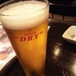 Cerdo y pato - 1606_cerdo y pato_生ビール@420円