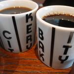 ザ シティ ベーカリー バー アンド バーガー ルービン - ドリンク写真:ホットコーヒー。