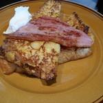 ザ シティ ベーカリー バー アンド バーガー ルービン - 料理写真:フレンチトースト。760円。