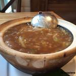 パラダイス ダイナシティ - 土鍋でグツグツ『ふかひれごはん』