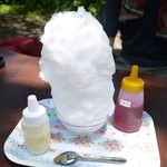城山茶屋 - イチゴミルク 大 500円。