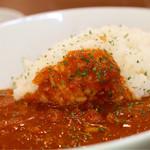 珈食房 る ぱん - 料理写真:チキンのトマトカリーランチ激辛