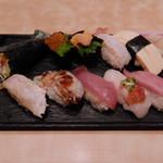 海鮮処寿し常 - 粋魚にぎり(ランチ)