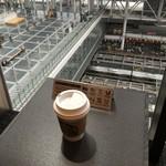スターバックスコーヒー - ドリンク写真:2016年6月 大阪駅構内が見える席♪