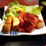 萌木 - 料理写真:日替わりランチ byオクカズ
