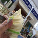 ジャージーハット - ソフトクリーム(400円税込)16.6月