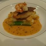 ビストロペイザンヌ - 料理写真:海老と鯛