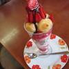 フルーツパーラー角館 さかい屋 - 料理写真:イチゴたっぷりチョコスペシャル600円。