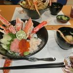 52489717 - かに鮮丼(生)定食                                   \1500