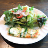 MARUKIYA - 料理写真:前菜サラダとキッシュ