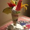 フルーツ大野 - 料理写真:フルーツパフェ