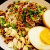 ラーメン スミス - 料理写真:味玉入り汁なし坦々麺