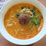 バーミヤン - 料理写真:麻辣坦々麺大盛