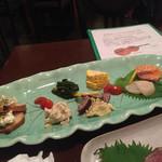 茨木グリル - 前菜盛り合わせ(¥1300)
