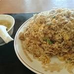 蓬莱閣 - 料理写真:マウンテン焼き飯はまんべんなく炒めれれて旨い