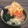 鳥居原ふれあいの館 - 料理写真:天ぷらそば