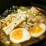 らー麺 とぐち - 漆黒の醤油