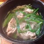 萌木 - 料理写真:豚しゃぶ小鍋