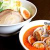 味噌屋八兵衛 - 料理写真:辛旨味噌つけ麺 880円+税
