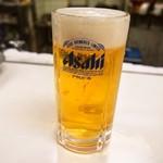 酒房 半田屋 - 生ビール