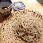 更科すず季 - 料理写真:手刈天日干しの手挽き田舎蕎麦