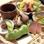 更科すず季 - 料理写真:酒菜7種盛り合わせ(1,500円)