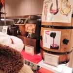 グルメバイキング オリンピア - バイキング料金にプラス料金でアルコール飲み放題プランにできます。生ビール、グラスワイン( 赤・白) 、焼酎( 芋・麦) 、ウイスキー、ハイボール、日本酒、チューハイといろいろあるよ。