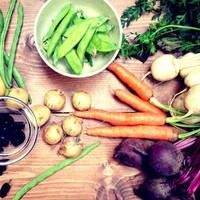新鮮な季節の野菜たっぷり!