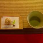 東林院 - 抹茶と菓子セット2003年Ver