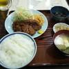 味処いちむら - 料理写真:牛かつ定食1200円