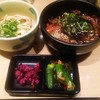 手延べうどん 水山 - 料理写真:マグロ漬け丼セット