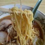 松嶋家 - 麺アップ
