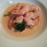 ignis - 大海老と季節野菜のクリームソース