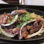 泰元食堂 - そして焼肉は泰元自慢の和牛を使ったバリウマ焼肉。