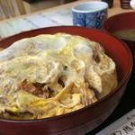 総本家 朝日屋 - カツ丼1080円(税込み)