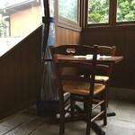 ボガマリ・クチーナ・マリナーラ - 可愛いー♡ 窓際の席\(^o^)/