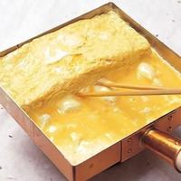 出汁香る天然出汁たっぷり 京都九条葱の出汁巻き玉子