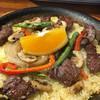 RISE - 料理写真:牛ステーキのパエリア1350円
